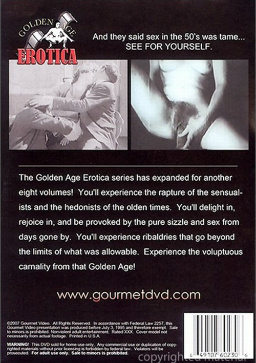 Golden Age Erotica Vol. 11