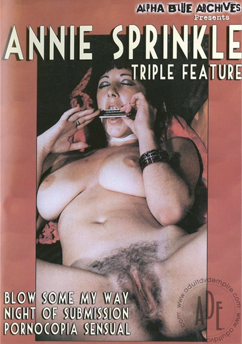 Annie Sprinkle Triple Feature
