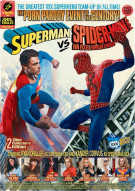 Superman vs Spider-Man XXX: A Porn Parody Adult DVD Box Cover Image
