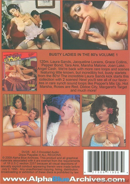 Busty Ladies In The 80s Volume 1