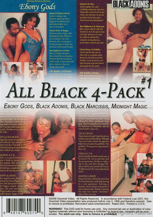 All Black 4-Pack #1