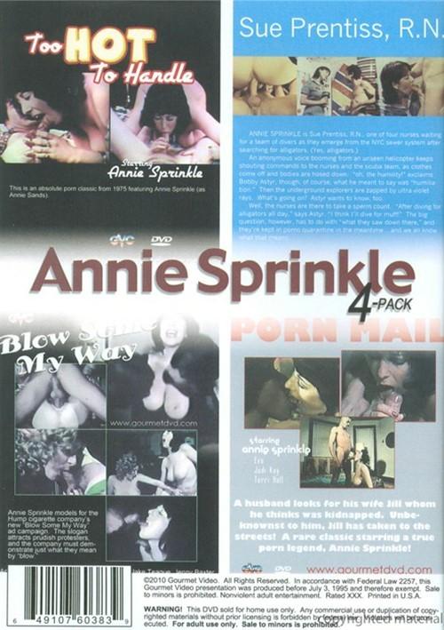 Annie Sprinkle 4-Pack