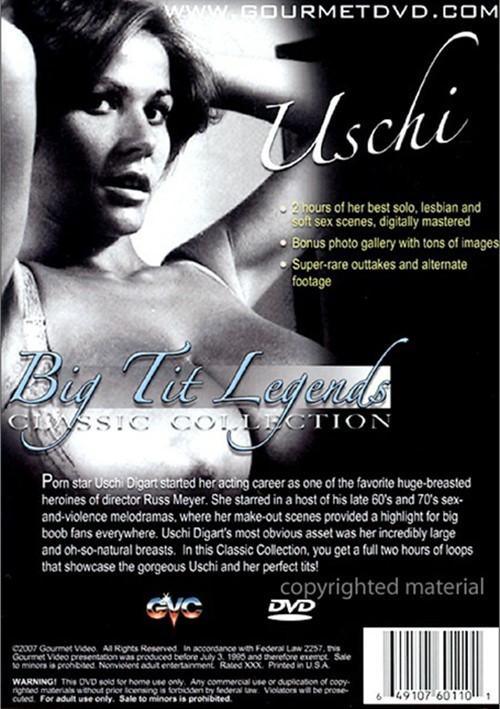 Classic Big Tit Legends: Uschi